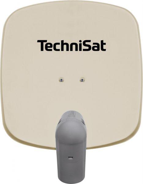 TechniSat Satman 45 beige + UnySat Twin LNB inkl. AZ/EL Halterung