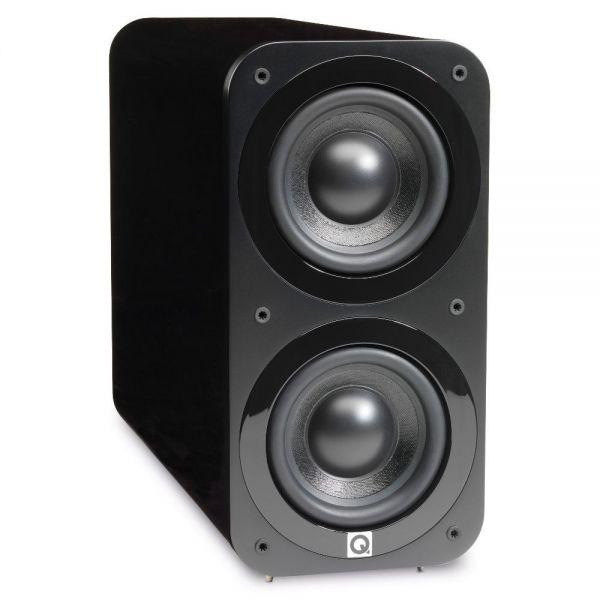 Q Acoustics 3070S Aktiver-Subwoofer, Schwarz Hgl.