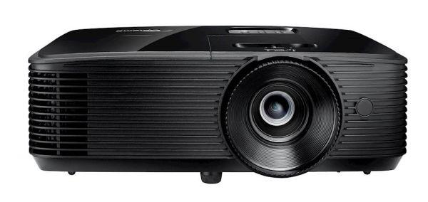 Optoma HD28e, DLP-Beamer schwarz, 3800 ANSI-Lumen, 3D, FullHD