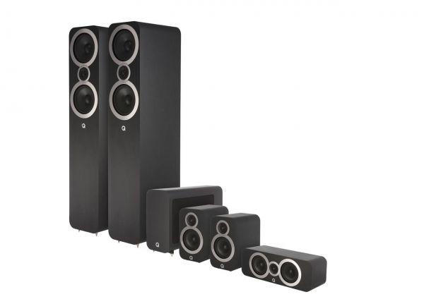 Q Acoustics 3050i CinemaPack Schwarz