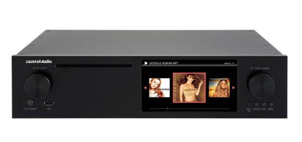 Cocktail Audio X50 Audioserver ohne HDD, schwarz