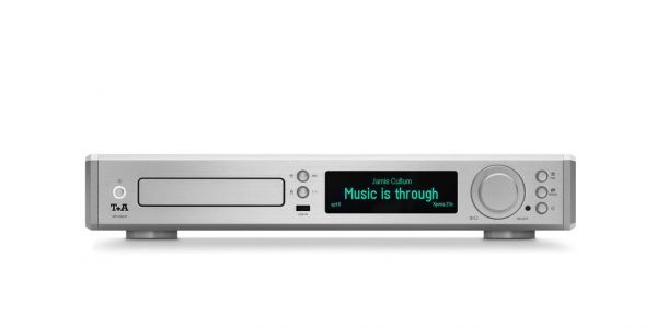 T+A MP 2000 R silber MK II V 2.0 Audio Dac + Multi Source Player inkl. FM1000