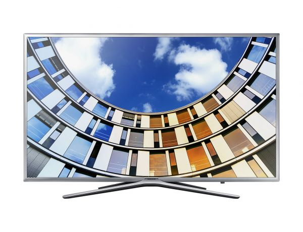 Samsung UE49M5649AU 49Zoll Full HD Smart-TV WLAN Silber LED-Fernseher