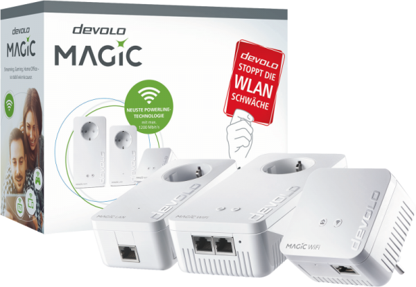 Devolo Magic 1 1200+ WiFi Netzwerk Kit