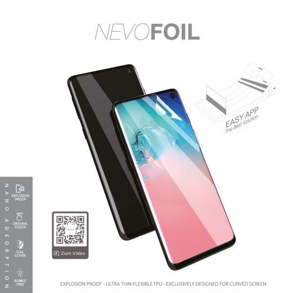 Nevox 1687 NEVOFOIL Samsung S10 Plus Nano TPU Folie