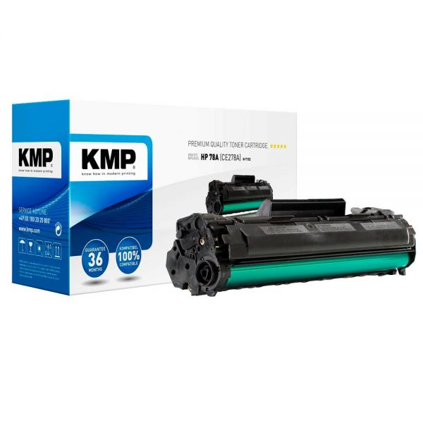 KMP H-T152 (Ersetzt HP-78A CE278A)schwarz