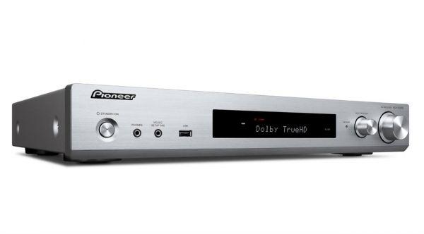Pioneer VSX-S520D-S silber, 5.1 AV-Receiver