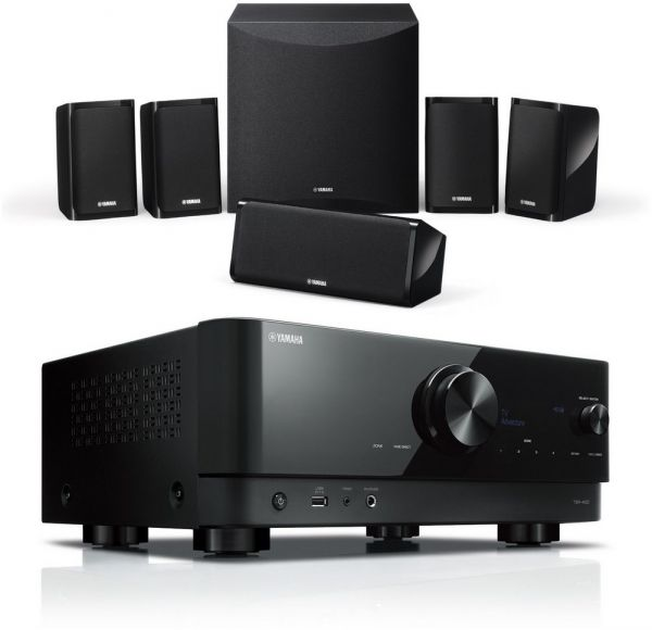 Yamaha YHT-4960 Home Cinema Set, 4K, HDR, Bluetooth, WLAN, MusicCast