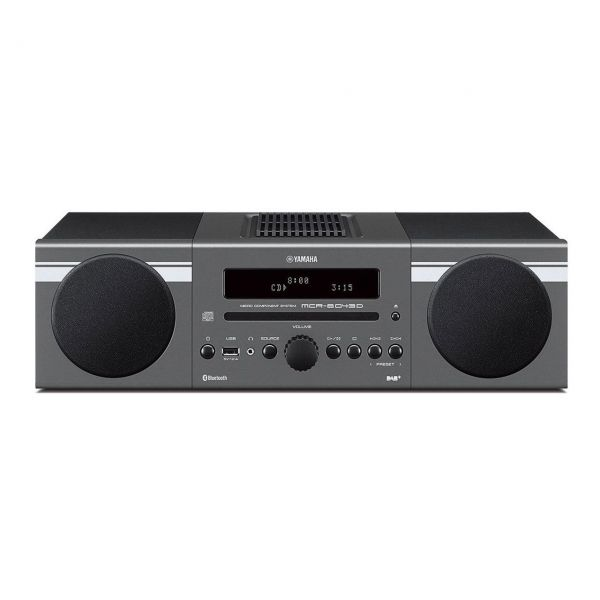 Yamaha MCR-B 043 DAB+, dunkelgrau
