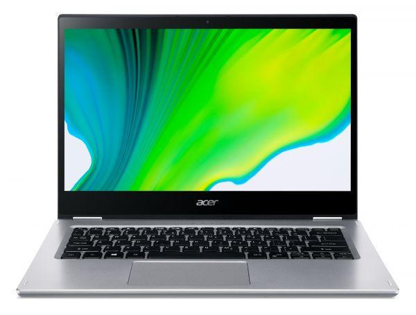 Acer Spin 3 SP314-21-R76X DDR4-SDRAM Hybrid (2-in-1) 35,6 cm (14 Zoll) 1920 x 1080 Pixel Touchscreen AMD Ryzen 3 8 GB 256 GB SSD Wi-Fi 5 (802.11ac) Windows 10 Home S Silber