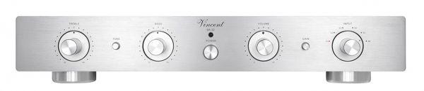 Vincent SA-32 silber, Hybrid Stereo Vorstufe