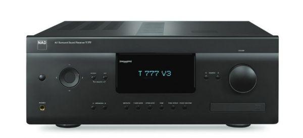 NAD T777 V3 Graphite, 7.1 AV Receiver mit Atmos + 4K, BluOS