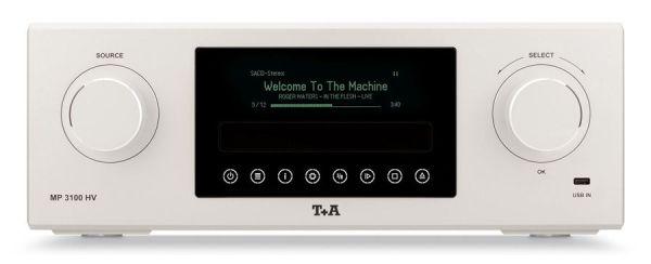 T+A MP 3100 HV Lack silber-schwarz V1.0