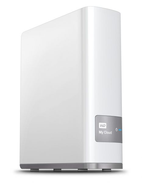 Western Digital My Cloud 4TB Eingebauter Ethernet-Anschluss Weiß Speichergerät für die persönliche Cloud