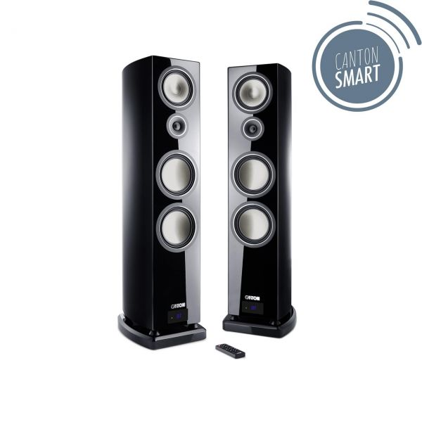 Canton Smart Vento 9 Set schwarz high-gloss