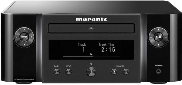 Marantz M-CR612 Melody X schwarz, Netzwerk CD-Receiver