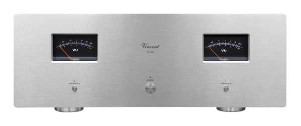 Vincent SP-332 silber, Hybrid Class-A Stereo Endstufe