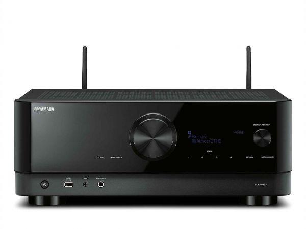 Yamaha RX-V6A Black, 7.2 AV-Receiver (Bluetooth, LAN, WLAN)