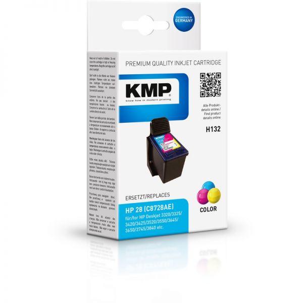 KMP Tinte H132 (color) ersetzt HP 28 (C8728AE)