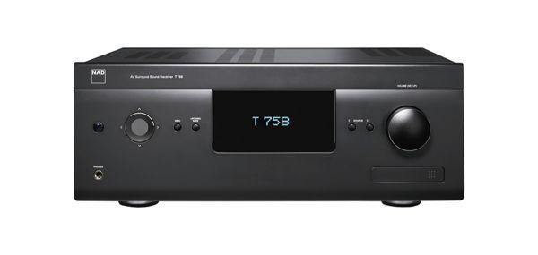 NAD T758 v3 7.1 AV Receiver mit Atmos + 4K, BluOS