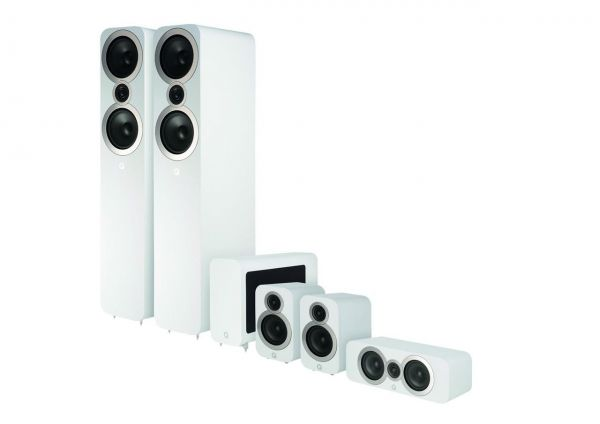 Q Acoustics 3050i CinemaPack Weiß
