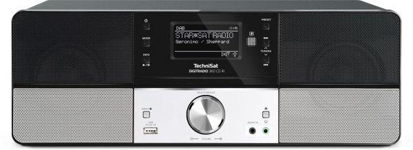 TechniSat DigitRadio 360 CD IR schwarz