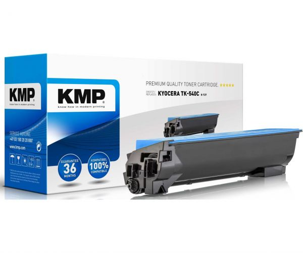 KMP K-T27 Toner (Ersetzt Kyocera TK-540C) cyan