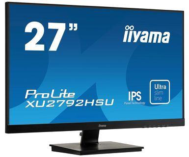 """iiyama ProLite XU2792HSU-B1 - LED-Monitor - 68.6 cm (27"""") - 1920 x 1080 Full HD (1080p) - IPS - 250 cd/m²"""