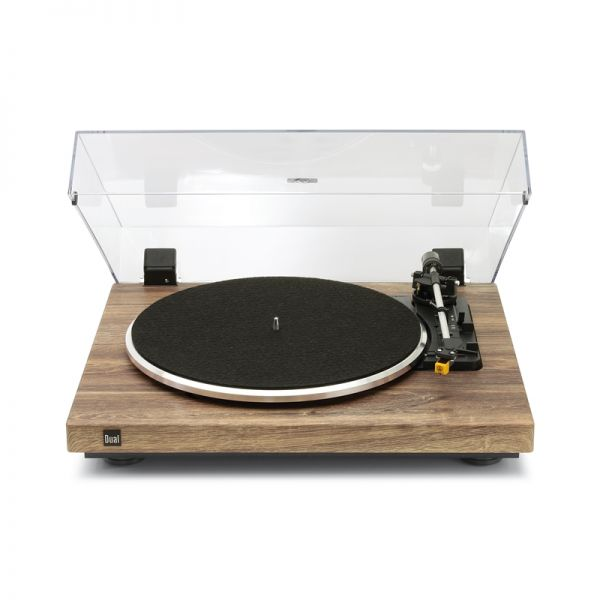 Dual CS 458 Schallplattenspieler Holz