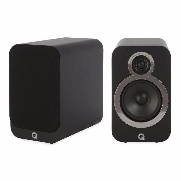 Q Acoustics 3020i (QA3526) Schwarz - Paarpreis