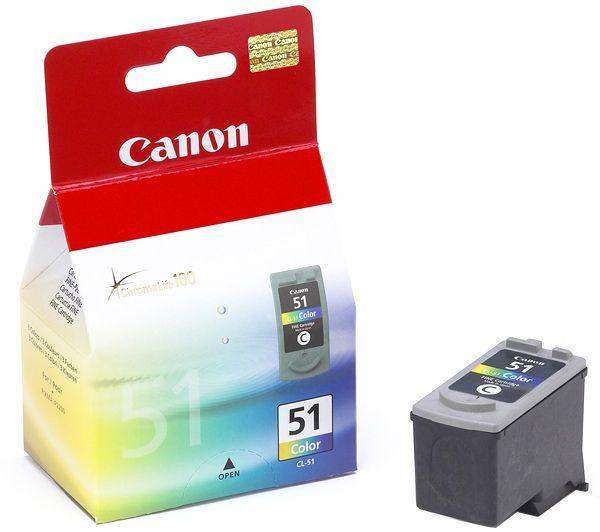 Canon CL-51 Original Cyan, Magenta, Gelb 1 Stück(e)