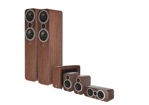 Q Acoustics 3050i CinemaPack Nussbaum