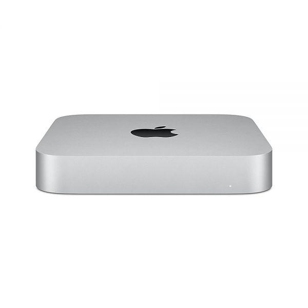 Apple Mac Mini Apple M1 Chip 8-Core CPU und 8-Core GPU 8GB gem. RAM 256GB SSD Gigabit Ethernet DE - Silber