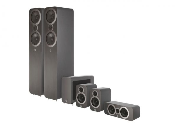 Q Acoustics 3050i CinemaPack Grafit