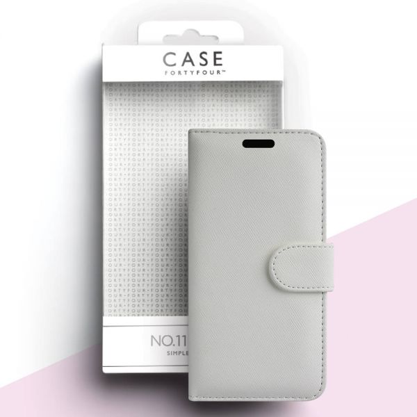 Case 44 No 11, Apple iPhone 11, cross gain white