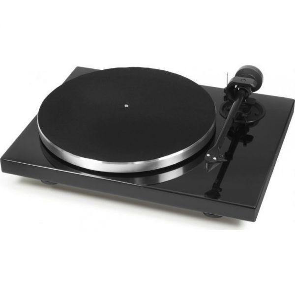 Pro-Ject 1-XPRESSION CARBON (Ortofon 2M Silver) Piano-Schwarz
