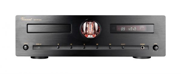 Vincent CD-S7 DAC schwarz, Hybrid CD-Player